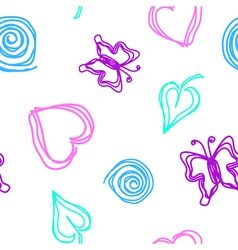 draw pattern vector image