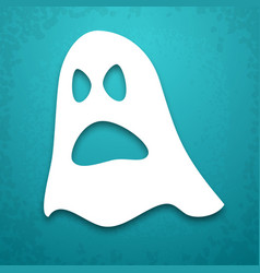 ghost applique background vector image