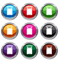 jar set 9 collection vector image