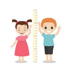 Kid measures the growth kid measures the growth vector