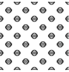 Stop pattern seamless vector