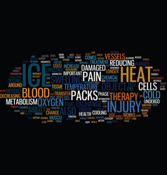 The power of ice text background word cloud vector