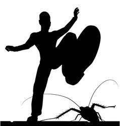 Bug control vector image vector image