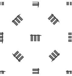 marina bay sands hotel singapore pattern seamless vector image vector image