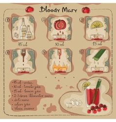 Bloody Mary vector