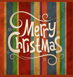 Christmas old background vector image