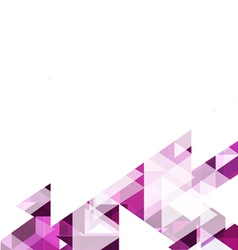 Modern purple geometrical abstract template vector