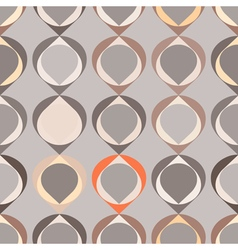 seamless background with abstract geometric shapes vector image