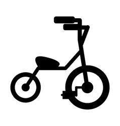 Baby tricycles simple icon vector image vector image