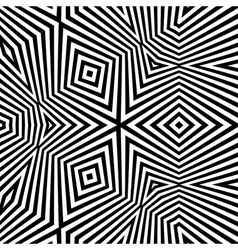 Pattern With Optical Abstract Background vector image vector image