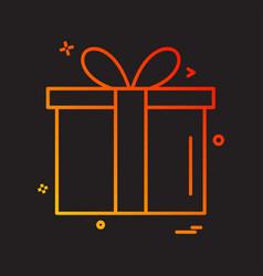 Birthday icon design vector