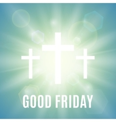 Good friday religious background vector