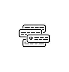 Internet marketing icon vector