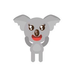 kawaii koala animal toy vector image