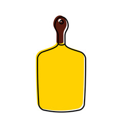 kitchen board isolated icon vector image