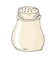 Salt caster vector