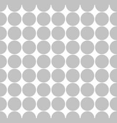 seamless abstract minimal pattern with dots polka vector image