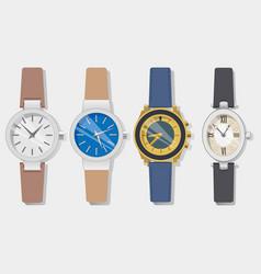 watch-set-short vector image
