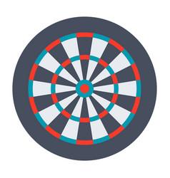 dartboard for darts game vector image
