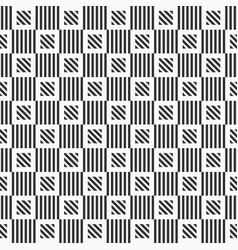 abstract geometric seamless pattern striped vector image
