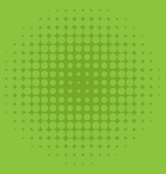 Background template design with green dots vector
