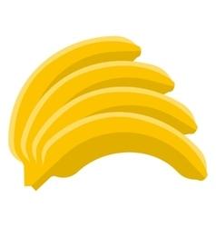 Banana flat icon vector image