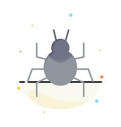 Bug nature virus indian business logo template vector