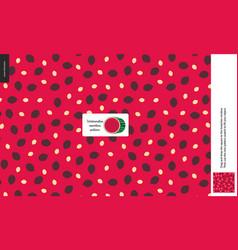 food patterns fruit watermelon vector image