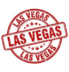 Las Vegas stamp vector