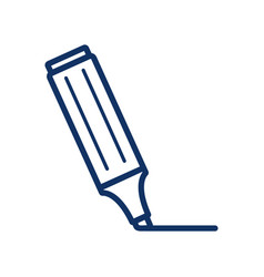 marker icon on white background vector image