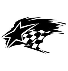 Motor sport icon vector