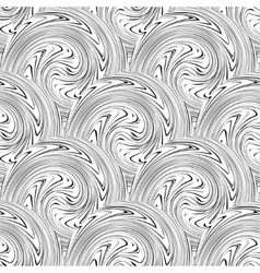 Swirl seamless background vector