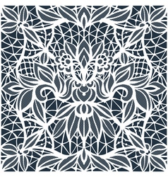 Lace cutwork vector