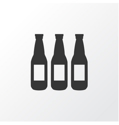 beer icon symbol premium quality isolated ale vector image