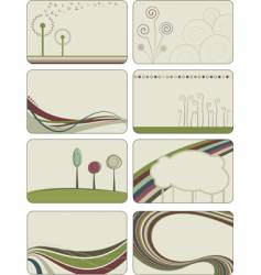creative backgrounds vector image vector image