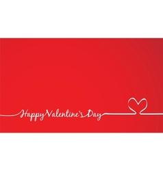 Valentines day invitation vector