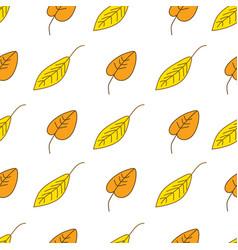 Beautiful autumn inspired seamless pattern vector