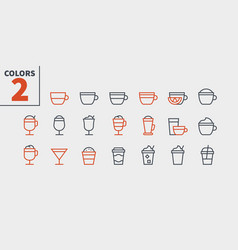 Coffee ui pixel perfect well-crafted thin vector