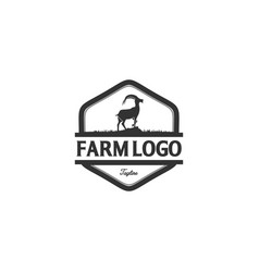 Goat logo designs inspirations vector