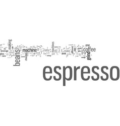 How to make your own espresso vector
