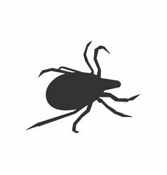 Mite icon vector