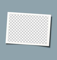 Retro frame template design transparent picture vector