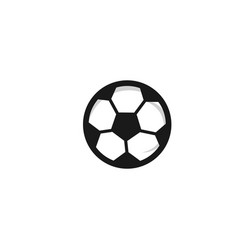 Soccer football ball template design vector