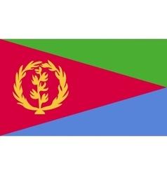 Eritrea flag image vector image vector image