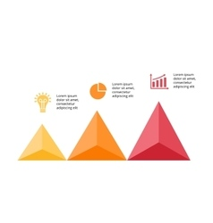 Up arrows infographic diagram chart vector