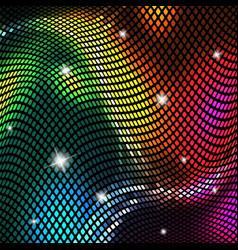 Abstract background bright shiny mosaic vector