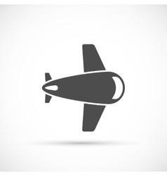 Airlane icon flat vector image