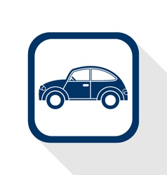 Car flat icon vector