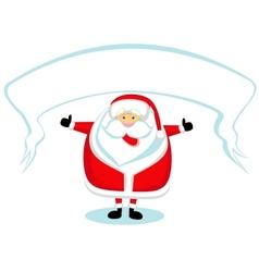 Cartoon Santa vector