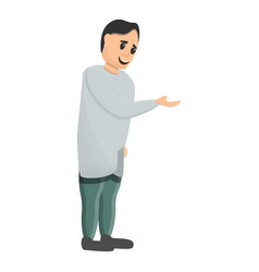 pediatrician icon cartoon style vector image